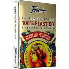Fournier Plastic Spanish Playing Cards, New, Free Shipping