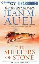The Shelters of Stone  by Jean M. Auel (Unabridged Audiobook on CDs)