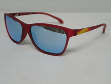 Puma PU 15184 RE Red Blue Silver Mirror Square Sunglasses PU15184