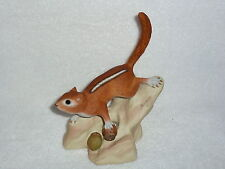 Rare Life Like BURGUES Signed Limited Edition CHIPMUNK Figurine #171