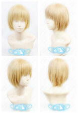 Attack on Titan Armin Arlert Short Warm Blonde Cosplay Anime Wig