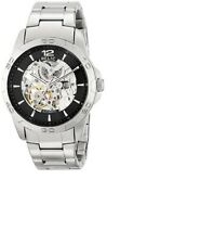 RELIC BY FOSSIL MEN'S SKELETON COLLECTION SILVER  WATCH ZR12013