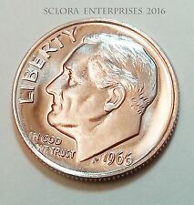 1966 Roosevelt Dime  *SPECIAL MINT SET* (SMS) UNCIRCULATED  **FREE SHIPPING