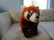 REALISTIC LIFELIKE BIG ASIAN RED TAIL PANDA PLUSH DOLL FIGURE STANDING W/ CLAWS