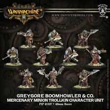 Privateer Press - Warmachine - Mercenary: Boomhowler and Company Model Kit