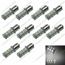 10X White 18 SMD 5050 LED BAU15s 150° 1056 7507 PY21W Car Turn/Brake/Tail Light