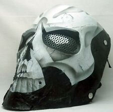 "New! Army of Two ""40th Day Skull"" Custom Fiberglass Collectible Airsoft Mask"