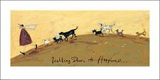SAM TOFT (WALKING DOWN TO HAPPINESS) Cat No: PPR41087 ART PRINT 100cm x 50cm