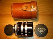 EXAKTA - ANGENIEUX 35MM F. 2.5 R1 RETROFOCUS LENS #607669 (1958 = LAST YEAR TYPE