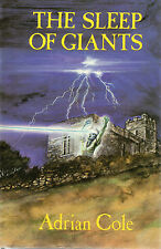 THE SLEEP OF GIANTS BY ADRIAN COLE FIRST EDITION 1983, SET IN DEVON & CORNWALL