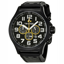 TW Steel Lotus F1 Chronograph 45mm Black PVD Mens Watch TW677R