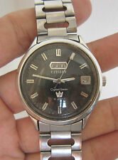 Rare Vintage Men CITIZEN King Seven Automatic Wrist Watch JAPAN