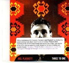 (DP820) Joel Plaskett, Three To One - 2010 DJ CD
