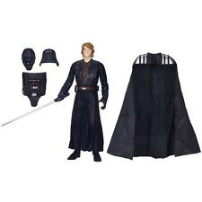 STAR WARS ANAKIN DARTH VADER 2 FIGURES IN 1 LIGHTSABER COLOR CHANGE HASBRO