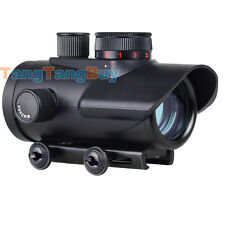 Red/Green/Blue Dot BSA 30mm rifle pistol Scope sight 20mm Weaver mount RD30