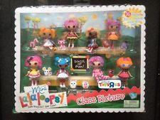 Lalaloopsy Mini Doll Series 1 Class Picture Pillow Crumbs Mittens Peanut Jewel