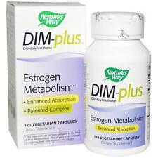 DIM-plus Estrogeni Metabolismo 120 Vcaps da Nature's Way per Equilibrio Ormonale