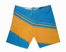 "NEW! AUTHENTIC O'NEILL MEN'S BOARDSHORTS /WATERSHORTS (AQUA BLUE, WAIST 38"")"