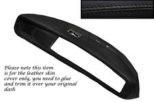 BLACK STITCH FITS TRIUMPH HERALD & VITESSE DASH DASHBOARD LTHR SKIN COVER ONLY
