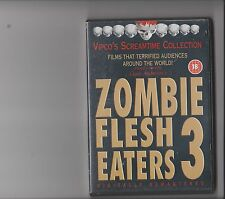 ZOMBIE FLESH EATERS 3 DVD HORROR RATED 18
