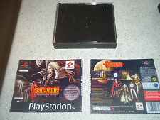 CASTLEVANIA-SYMPHONY OF THE NIGHT PS1 LTD EDITION CASE+INLAYS ONLY.NO GAME