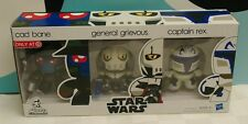 Star Wars Mini Mugs Cad Bane General Grievous Captain Rex MINI FIGURES