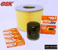 SUITS LANDCRUISER PRADO VZJ95R V6 3.4 5VZ-FE OIL AIR FILTER+SPARK SERVICE 96-03