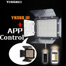 Yongnuo YN-300 III YN-300III LED Video Light 5500K for Canon Nikon DSLR Camera