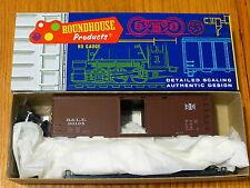 Roundhouse HO #1082 (Rd #90105) B&LE 40' Roundtop Box Car kit