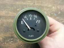 Jeep MB GPW 12 Volt 12V Fuel Gauge CJ2A CJ3A G503 Best Gauge Available!!