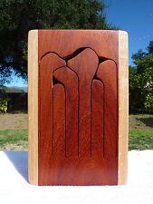 6 Key Tuned Wooden Tongue Drum / Slit Drum (D# Major)