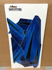 AMR Graphic Kit Decal CLOSE OUT - AMR RZR 1000 2 Door - Blue Voodoo