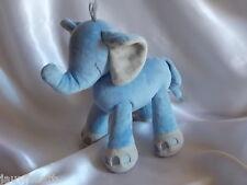 Doudou éléphant bleu et gris, Nicotoy