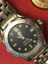 Omega Watch Seamaster 300M JAMES BOND 1109 Automatic Excellent.