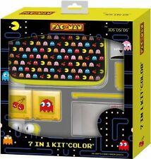 NUOVO KIT UFFICIALE PACMAN PAC-MAN 7, in caso di colore 1 3ds PLUS ACCESSORI freeP & PUK