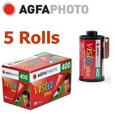 AU:5 Rolls x AgfaPhoto VISTA Plus 400 ISO 36exp 135 35mm Color Film Exp.2018