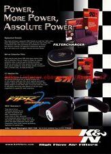 K&N High Flow Air Filters 2001 Magazine Advert #8003
