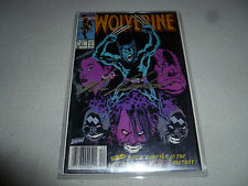 WOLVERINE COMIC SIGNED AUTOGRAPHED MARK SILVESTRI WRITER 1990 #31 MARVEL AUTO