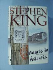 """Stephen King 1999 1st ed.  """"Hearts in Atlantis"""" Scribner - correct number line"""