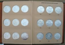 COMPLETE AMERICAN SILVER EAGLE SET 1986 TO 2016 ..GEM BU++