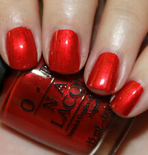 OPI Nail Polish Lacquer Die Another Day HL D09 ( Shinny Crimson Red James Bond)