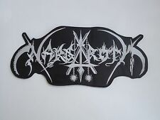 NARGAROTH BLACK METAL EMBROIDERED BACK PATCH