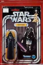 STAR WARS AFA 80 DARTH VADER SKU ON FIGURE STAND 12 BACK A - VINTAGE