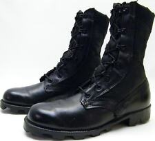 MENS RO SEARCH SPIKE PROTECTIVE BLK MILITARY JUNGLE BIKER COMBAT BOOTS SZ 5.5 R
