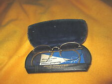 Vintage Shuron Spectacles Glasses 1/10 12k Gold Filled In Case