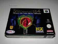Shadowgate Trials of the Four Towers Nintendo 64 N64 Boxed PAL Preloved ITA/Span