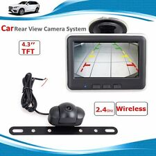 "Wireless Car Rear View PARKING System Backup Reverse Camera+4.3"" TFT LCD Monitor"