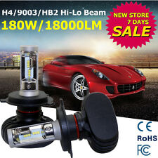 2X Philips H4 180W 18000LM Headlight Hi-Lo Bright Bulbs LED Beam Kit 9003 HB2