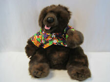 Walt Disney Brown Bear Jungle Book Hawaiian Shirt Plush Toy (OAYD219)