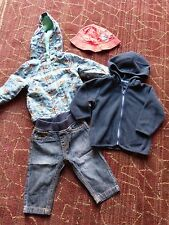 Baby Boy Jacket Jeans Jumper Hat Bundle 3-6 Months M&Co Mothercare George
